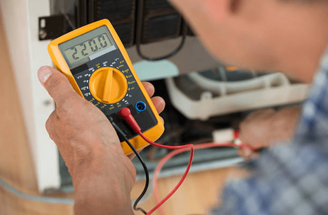 appliance diagnostic test