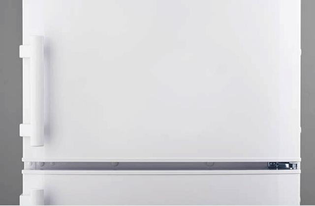 refrigerator door closeup